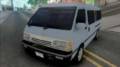 Toyota Old Shape Hiace [IVF] for GTA San Andreas