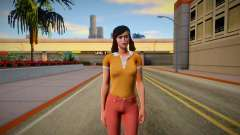 Jenny Myers from Friday the 13th: The Game Skin for GTA San Andreas