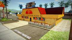 New texture of pizzeria in Edlewood for GTA San Andreas