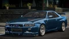 Nissan Skyline R34 BS GT-R V1.0 for GTA 4