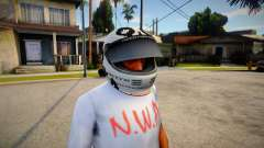 Racing Helmet Leopard for GTA San Andreas
