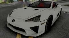 Lexus LFA 2011 SA Style [VehFuncs] for GTA San Andreas