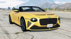 Bentley Mulliner Bacalar 2020 for GTA 5