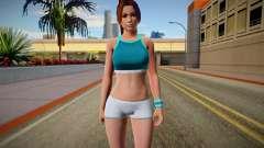 DOA6 Mai Shiranui Energy Up Training Wear for GTA San Andreas