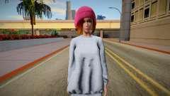 Marie Rose Casual (good skin) for GTA San Andreas