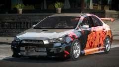 Mitsubishi Lancer X GST-R PJ9 for GTA 4