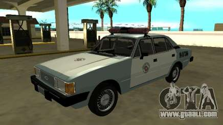 Chevrolet Opala of BM in the state of São Paulo for GTA San Andreas