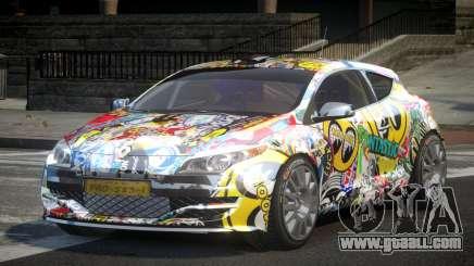 Renault Megane PSI-R PJ8 for GTA 4