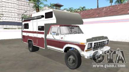 Ford F-150 LXT 1978 Motorhome for GTA San Andreas