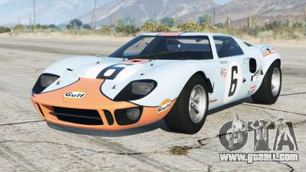 Ford GT40 (MkI) 1968〡add-on for GTA 5