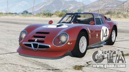 Alfa Romeo Giulia TZ2 (105) 1965〡add-on for GTA 5