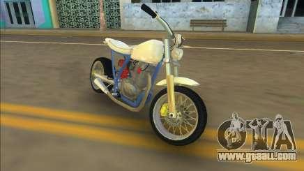 Honda FTR Custom Mini for GTA Vice City