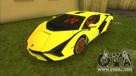 Lamborghini Sian FKP 37 for GTA Vice City