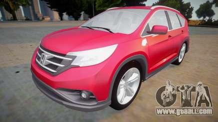 Honda CR-V 2014 for GTA San Andreas