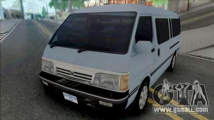Toyota Old Shape Hiace [IVF] for GTA San Andreas