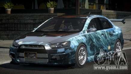 Mitsubishi Lancer X GST-R PJ2 for GTA 4