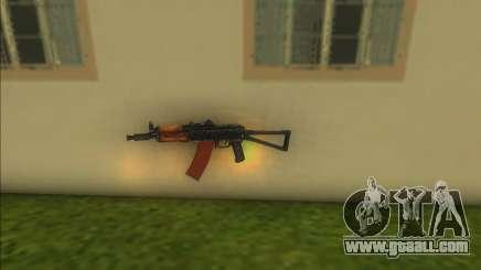 AKs74u for GTA Vice City