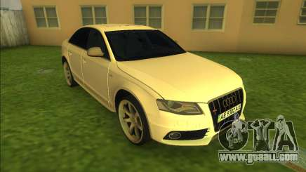 Audi S4 for GTA Vice City