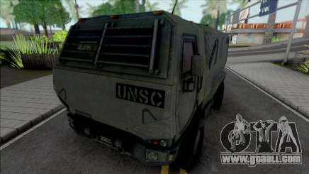 Cargo Truck UNSC for GTA San Andreas