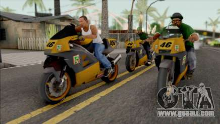 Buddy Bike for GTA San Andreas