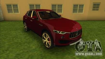 Maserati Levante S (Beta) for GTA Vice City