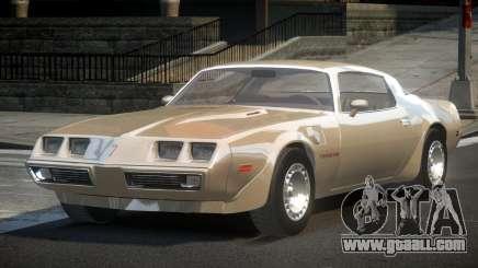 Pontiac TransAm 80S for GTA 4
