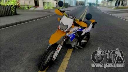Kawasaki KLX 150 Orange Extreme for GTA San Andreas