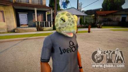 Lizard mask (GTA Online DLC) for GTA San Andreas