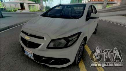 Chevrolet Prisma LT 2014 [VehFuncs] for GTA San Andreas