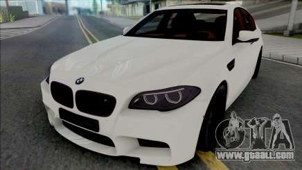 BMW M5 F10 Autovista for GTA San Andreas