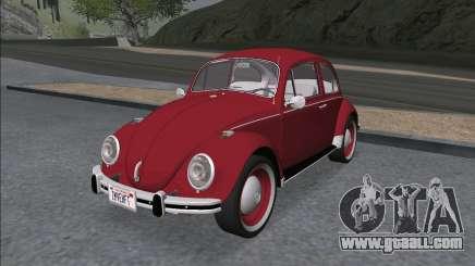Volkswagen Beetle (Beetle) 1300 1971 - Brazil for GTA San Andreas