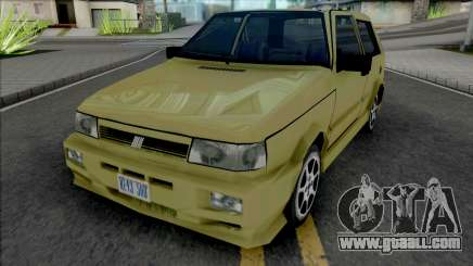 Fiat Uno [VehFuncs] for GTA San Andreas