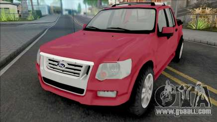Ford Explorer Sport Trac Limited 2008 Adrenaline for GTA San Andreas