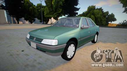 Peugeot 405 GLX (Detailed) for GTA San Andreas