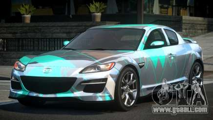 Mazda RX-8 BS U-Style L3 for GTA 4