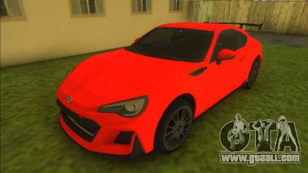 Subaru BRZ STi Performance Concept for GTA Vice City