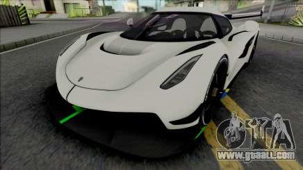 Koenigsegg Jesko for GTA San Andreas