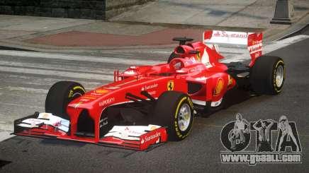 Ferrari F138 R5 for GTA 4