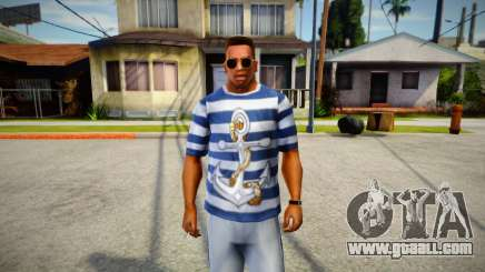 Sailor's T-shirt for GTA San Andreas