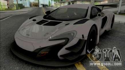 McLaren 650S GT3 (SA Lights) for GTA San Andreas
