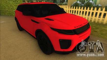 Land Rover Range Rover Evoque for GTA Vice City