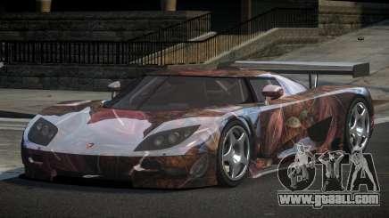 Koenigsegg CCGT GS L2 for GTA 4