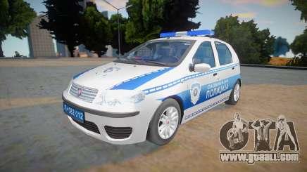 Fiat Punto Mk2 Classic Policija for GTA San Andreas