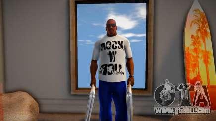 Rock n Roll T-Shirt for GTA San Andreas