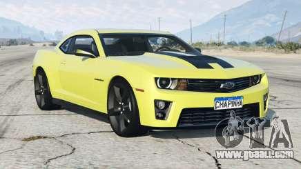 Chevrolet Camaro SS 2013〡add-on for GTA 5