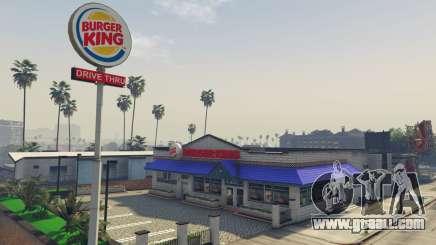 Burger King for GTA 5