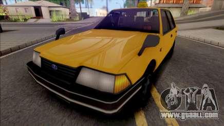 Yakuza 5 Remastered Taxi for GTA San Andreas