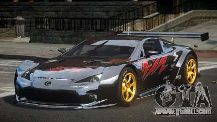 Lexus LFA PSI-R L7 for GTA 4