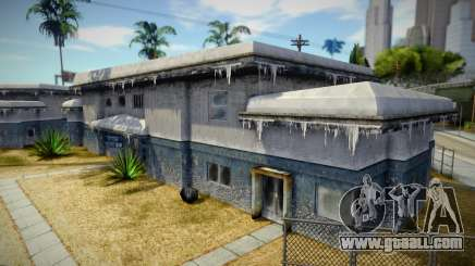 Winter House for GTA San Andreas