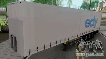 Trailer Edy Logistic for GTA San Andreas